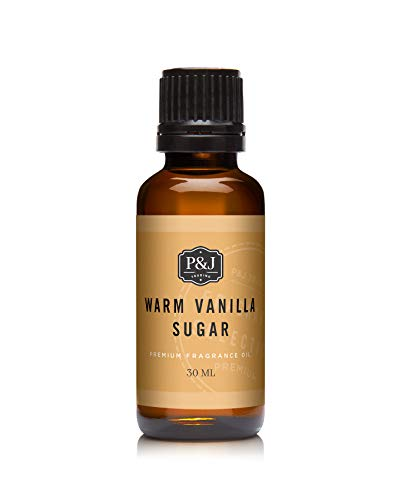 P&J Trading Warm Vanilla Sugar - Premium Grade Scented Oil - 30ml