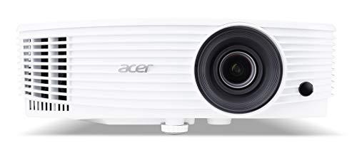 Acer P1255 Proiettore con Risoluzione XGA, Contrasto 20.000:1, Luminosità 4.000 ANSI, Formato 4:3, Connessione VGA/MHL, HDMI, Durata della Lampada 5.000 h, Speaker Integrati, Bianco