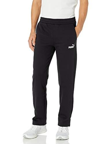 PUMA Herren Essential Logo Sweat Pants Jogginghose, Black, 4X-Groß