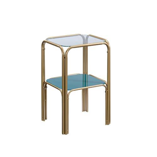 Sauder 423743 Coral Cape End Table, Satin Gold