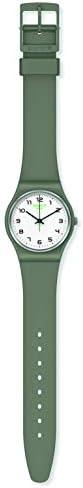 Swatch Swiss Quartz bio-sourced Plastic Strap, Green, 18 Casual Watch (Model: SO28G101) WeeklyReviewer