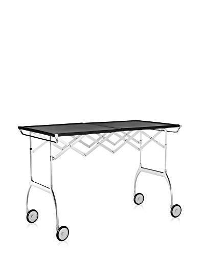 Kartell Battista Küche - Sets, Plastik, schwarz, 54 x 69 x 100 cm