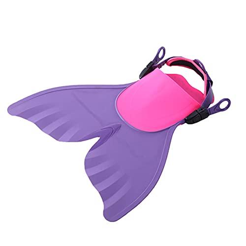 Wechoide Aletas de buceo ajustables para natación, natación con aletas de buceo, regalo para adultos de verano