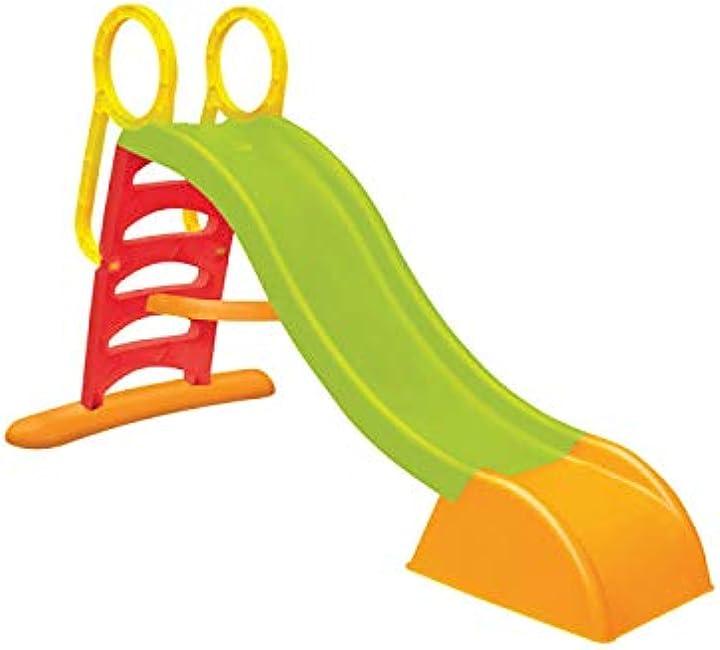 Scivolo per bambini con 5 gradini slide multicolore sport1 5907442108323