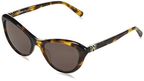 Love Moschino MOL015/S Gafas de sol, Marrón (Dk Havana), 53.0 para Mujer