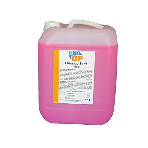 10l Kanister Handseife flüssig Flüssigseife Seife rosa mild ph-neutral hautfreundlich rückfettend