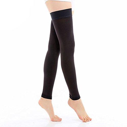 Fletion - Tutore per donne e ragazze, per mantenere sottile il ginocchio, 20-30 mmHg