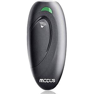 MODUSUltrasonicDogBarkingDeterrent,2-in-1DogTrainingandBarkControlDevice,Anti-BarkingDevice,ControlRangeof16.4Ft,WristStrap,Battery Included,LEDIndicate,IndoorandOutdoor