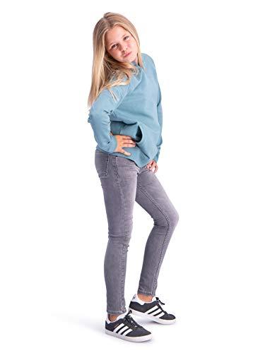BOOF Finch grau super Skinny Jeans Hyperstretch Jeans für Kinder Mädchen Slim Größe 98 Cotton