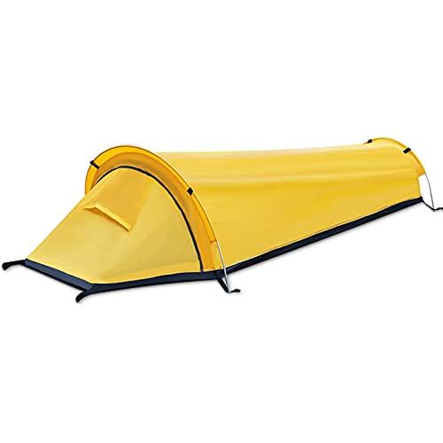 Bingdong Portátil ultraligero tienda impermeable a prueba de viento saco de dormir para acampar al aire libre senderismo equipo