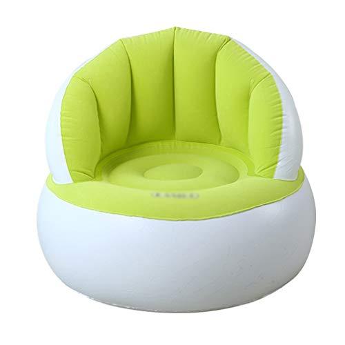 CCQDD Opblaasbare opblaasbare opblaasbare sofa airbag kinderstoel opvouwbare slaapkamer woonkamer ligstoel kruk met elektrische pomp Multi-Color Optioneel