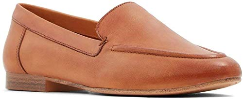 ALDO Women's Joeya Slip-On Loafer, Light Brown Smooth, 8