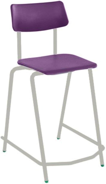 con 60% de descuento Metalliform MS128-LG-púrpura BS - Silla alta con asiento (670 (670 (670 mm), Color morado  diseñador en linea