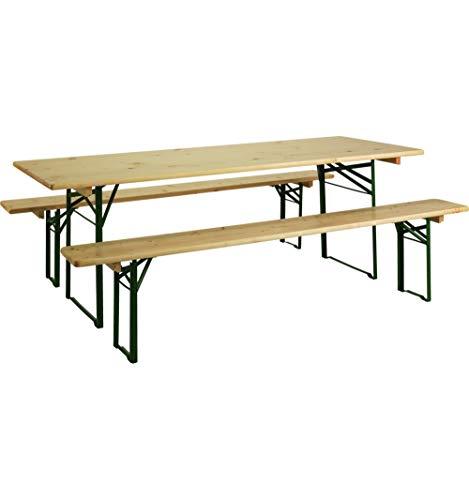 Jardipolys BRASSEURS - Table Pique-Nique - L. 220 cm