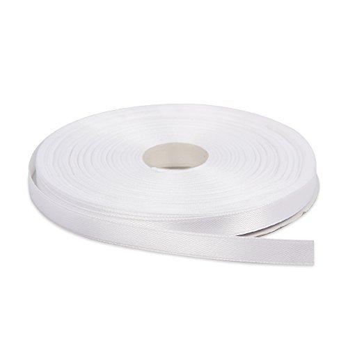 White Satin Ribbon Roll
