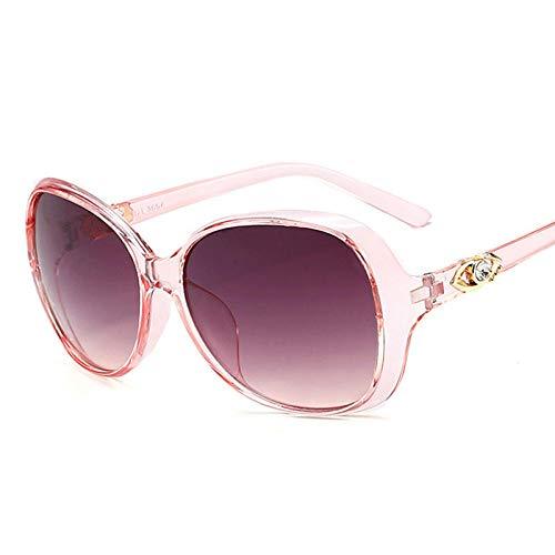 chuanglanja Gafas De Sol Mujer Elegantes Gafas De Sol De Gran Tamaño Para Mujer Gafas DeSol Vintage ElegantesPara Mujer Gafas Para Mujer Espejo-Color-M