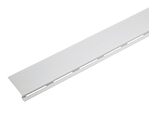 Amerimax 7 in. W x 48 in. L White Plastic Gutter Cover