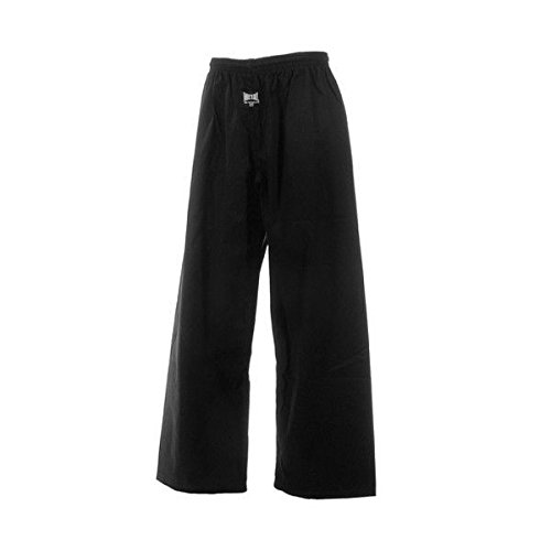 METAL BOXE- Pantalón para deportes de combate, color negro, negro, 160 cm