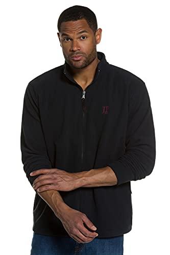JP 1880 Homme Grandes tailles Polaire douce et chaude avec fermeture zippée noir 5XL 705552 10-5XL