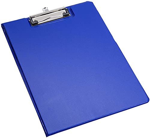 EliteKoopers - Cartellina per appunti in formato A4, colore: Blu
