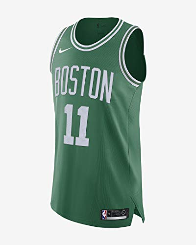 Nike Bos Kyrie Irving Boston Celtics Authentic Icon Edition Jersey - Kelly Green (Large (48))