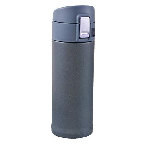 1 St Draagbare Reizen Roestvrijstalen Thermoskan Mode Geïsoleerde Mok Koffie Thermoskan Thermische Waterfles, 350 ml Blauw