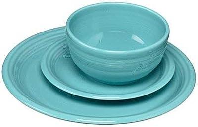 Fiesta 107-1482 3 Piece Bistro Set, Turquoise