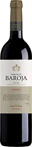 Vino Tinto Heredad De Baroja Crianza Rioja Alavesa 75 CL