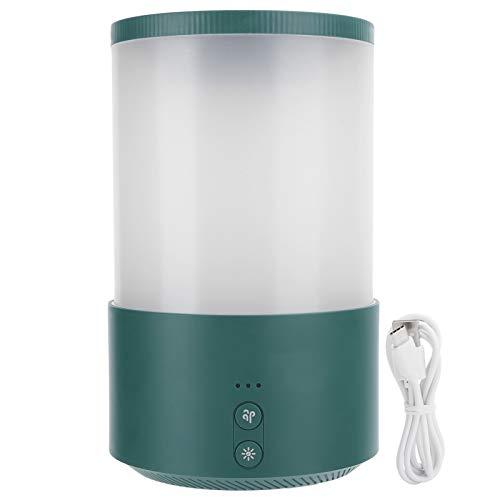 Desgaste de gran capacidad- Humidificador humidificador de doble pulverización Humidificador de niebla fría 650ml Dormitorio Sala de estar para el hogar(green, Pisa Leaning Tower Type)