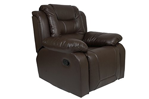 AE Designs Recliner In Dark Brown