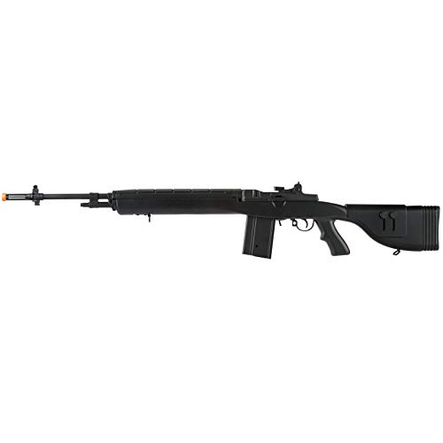 "Lancer Tactical LT-732 DMR Stock 45"" M14 SOCOM Airsoft AEG Rifle Black"