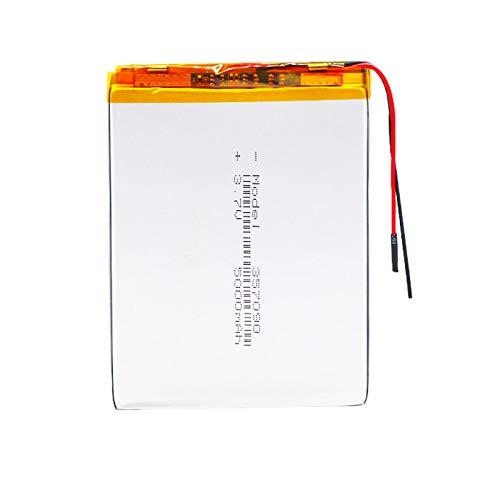 RFGTYH Batería del polímero de Litio de 3.7v 5000mah con el Tablero para los Productos Digitales de Las PC de la Tableta de PDA 1piece