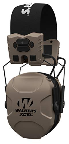 Walker's Saftey Xcel 100 Digital Electronic Muff W/Voice Clarity, Advanced Circuit, 4 Listening Modes