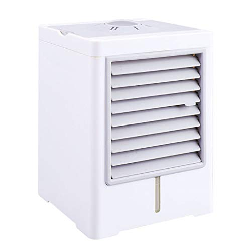 99native Portable Air Cooler, Mini Mobile Klimaanlage Luftkühler, 3 in 1 Luftbefeuchter und Luftreiniger, Tragbare Klimaanlage Luftkühler für Zuhause, drinnen, Küche, im Freien (Weiß)