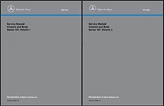 1972-1989 Mercedes 107 Air Conditioning/Heater Service Manual Reprint SL SLC 350 380 450 560