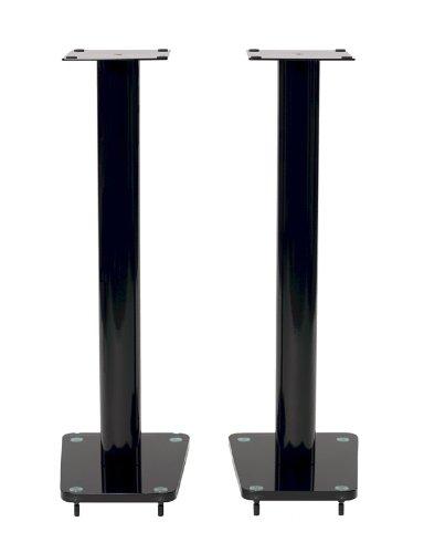 """TransDeco Speaker Stands, 32"""", Black"""