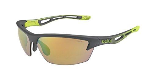 Bollé Bolt - Gafas de sol, color verde (smoke/lime), talla L