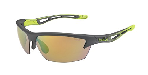 Bollé Bolt - Gafas de sol, color verde (smoke/lime), talla L