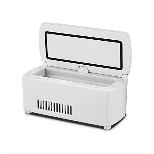 SHKUU Refrigerador de Medicina USB-Caja refrigerada de insulina Portátil Mini Refrigeración Inteligente a Temperatura Constante