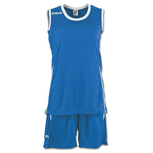 Joma Space II Camiseta y Pantalon Balonces, Mujer, Royal, S