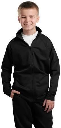Sport-Tek Youth Tricot Track Jacket