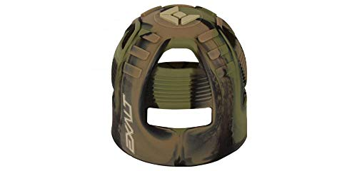 Exalt Paintball Tank Grip - 45-88ci - Jungle Camo