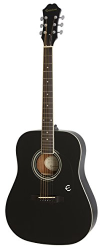 Epiphone FT-100 Acoustic Guitar, Ebony