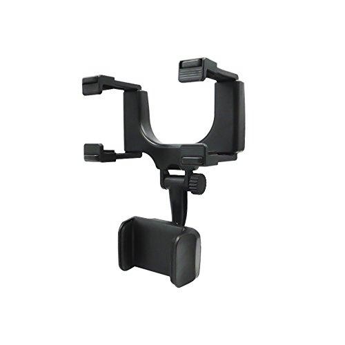 KKmoon Supporto per Telefono per Auto specchietto retrovisore Supporto per Smartphone GPS Universale