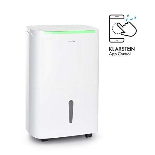 KLARSTEIN DryFy Connect 40 deshumidificador de Aire - WiFi, Rendimiento de...