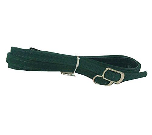 Lacet en daim détachable pour femme, talons hauts Accessoires anti-lâches, vert foncé