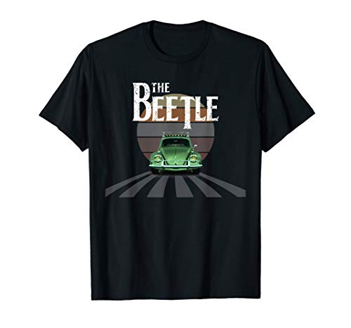 RETRO VINTAGE BEETLE BUGGY AUTO BUG AUTO CALIFORNIA LOVE T-Shirt
