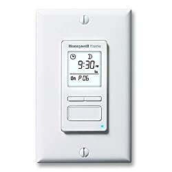 top rated Honeywell Home RPLS740B1008 Econoswitch 7-day programmable lightswitch timer, white 2021