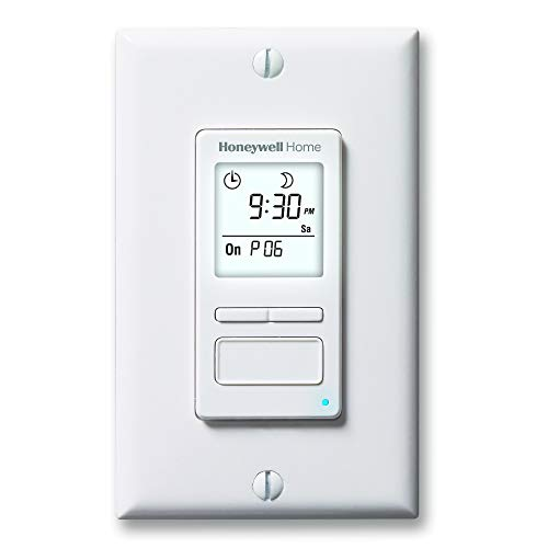 Honeywell Home RPLS740B1008 Econoswitch 7-Day Programmable Light...