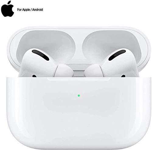 Auricular Bluetooth 5.0, Auricular inalámbrico, micrófono y Caja de Carga incorporados, reducción del Ruido estéreo 3D HD, para Auriculares iPhone/Android/Apple Airpods Pro/Samsung/Huawei